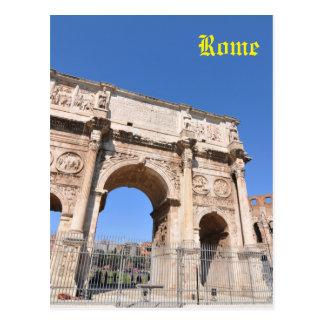 Cartão Postal Arco em Roma, Italia