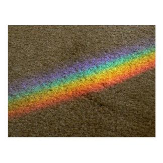 Cartão Postal Arco-íris