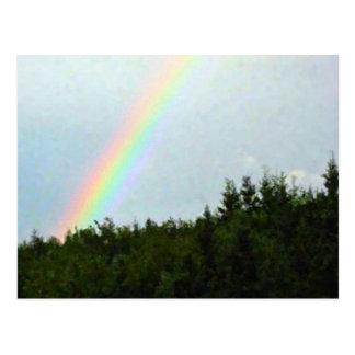 Cartão Postal Arco-íris do bretão do cabo