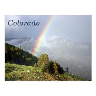 Cartão Postal Arco-íris do cume de Colorado