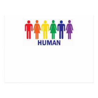 CARTÃO POSTAL ARCO-ÍRIS DOS DIREITOS DE OS HOMOSSEXUAIS DA