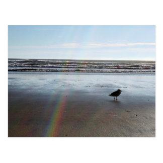 Cartão Postal Arco-íris misterioso