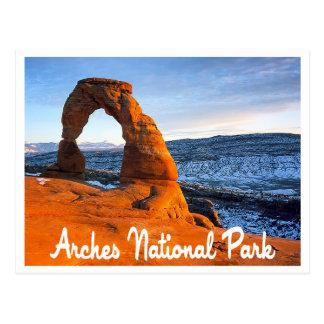 Cartão Postal Arcos parque nacional, Utá, os Estados Unidos