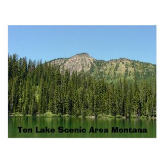 Cartão Postal Área cénico de dez lagos