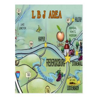 Cartão Postal Área de LBJ
