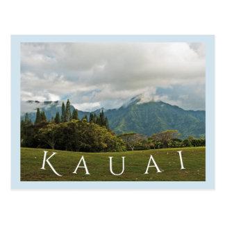 Cartão Postal ÁREA de postcard/KAUAI/PRINCEVILLE