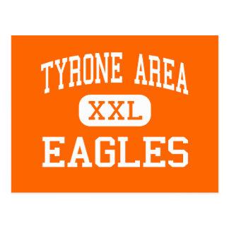 Cartão Postal Área de Tyrone - Eagles - meio - Tyrone