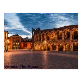 Cartão Postal Arena de Postacard de Verona