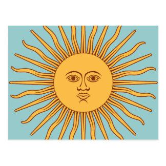 """Cartão Postal Argentina """"solenóide de Mayo """""""