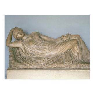 Cartão Postal Ariadne adormecido, Hellenistic de Alexandria, ò c