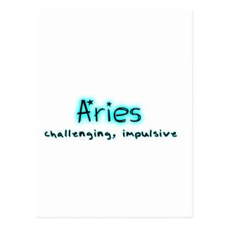 Cartão Postal Aries