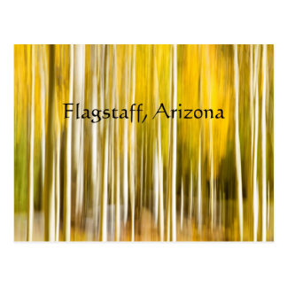Cartão Postal Arizona do mastro de Aspen abstrata
