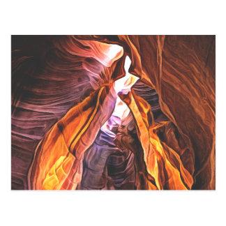 Cartão Postal Arizona esplêndida e majestosa - garganta do