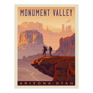 Cartão Postal Arizona & Utá do vale | do monumento