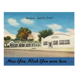 Cartão Postal Arkansas, corte de turista de Goodwin