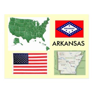 Cartão Postal Arkansas, EUA