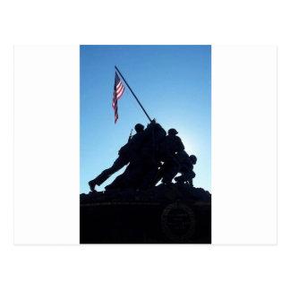 Cartão Postal Arlington Iwo Jima