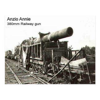 Cartão Postal Arma    Railway da segunda guerra mundial, Anzio