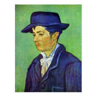 Cartão Postal Armand Roulin por Vincent van Gogh