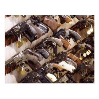 Cartão Postal Armas confiscadas nas matrizes de FBI