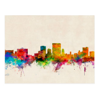 Cartão Postal Arquitectura da cidade da skyline de El Paso Texas