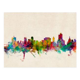 Cartão Postal Arquitectura da cidade da skyline de Tulsa