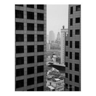 Cartão Postal Arquitectura da cidade de Shanghai, China