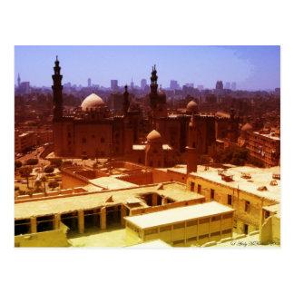 Cartão Postal Arquitectura da cidade do Cairo