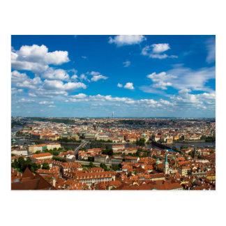 Cartão Postal Arquitectura da cidade em Praga