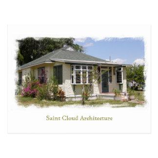 Cartão Postal Arquitetura da nuvem do santo