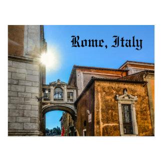 Cartão Postal Arquitetura de Roma Italia