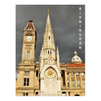 Cartão Postal Arquitetura em Birmingham, Inglaterra