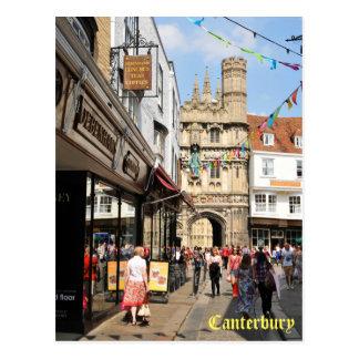 Cartão Postal Arquitetura em Canterbury, Kent, Inglaterra