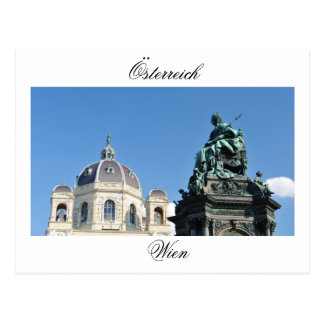 Cartão Postal Arquitetura em Viena, Áustria