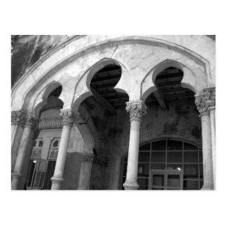 Cartão Postal Arquitetura gótico Mumbai India