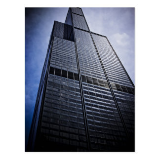 Cartão Postal Arranha-céus da torre de Chicago Willis