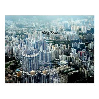 Cartão Postal Arranha-céus de Hong Kong