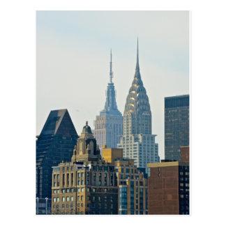 Cartão Postal Arranha-céus de New York!