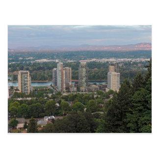 Cartão Postal Arranha-céus de Portland Oregon
