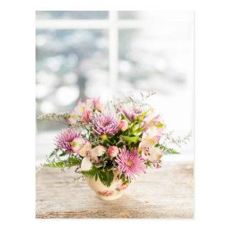 Cartão Postal Arranjo de flor