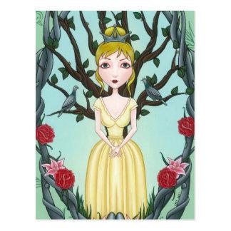 Cartão Postal 'Arrepio e Quiver pouco Tree