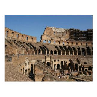 Cartão Postal Art. romano. O Colosseum ou o Flavian 7