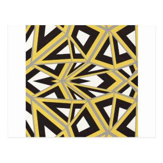 Cartão Postal Arte abstracta