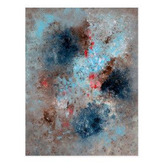 Cartão Postal Arte abstracta - ausência