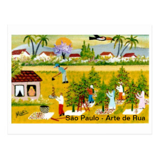Cartão Postal Arte Brasileira