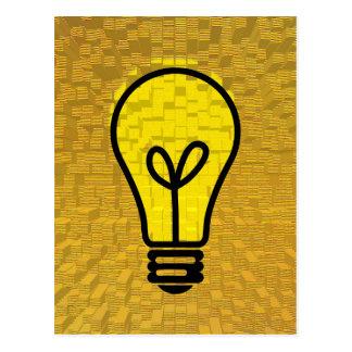 Cartão Postal arte da ampola