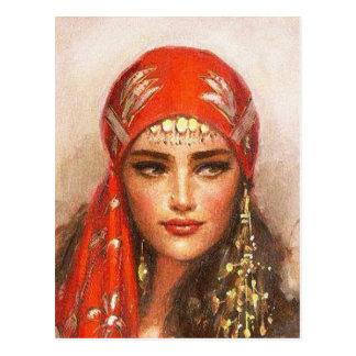 Cartão Postal arte das mulheres