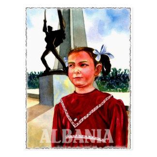 Cartão Postal Arte de Albânia