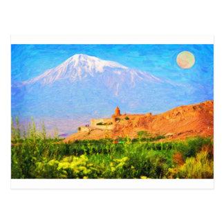 Cartão Postal Arte de Ararat_Kurdistan