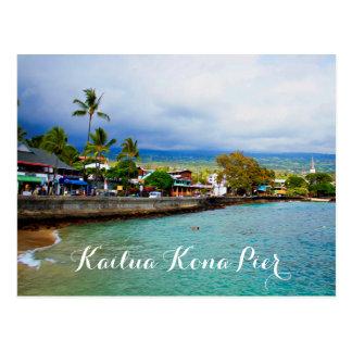 Cartão Postal Arte de Digitas da pintura de óleo de Havaí do